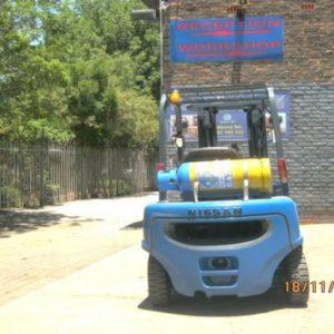 2.5 Ton Gas Nissan Forklift